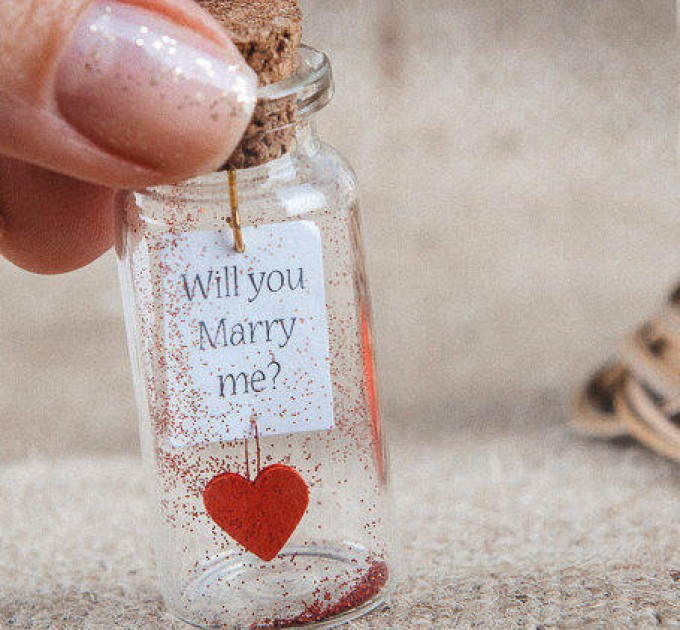Will You Marry Me Proposal Ideas For Her, Wedding Proposal Him,  Unique Marriage Proposal Personalized Engagement Gift