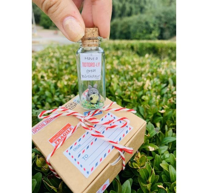 Totoro Cute Couple Gift Studio Ghibli Miyazaki Anime Chriatmas Ornament Cute Gift For Boyfriend Funny Christmas Gift For Him Gift For her