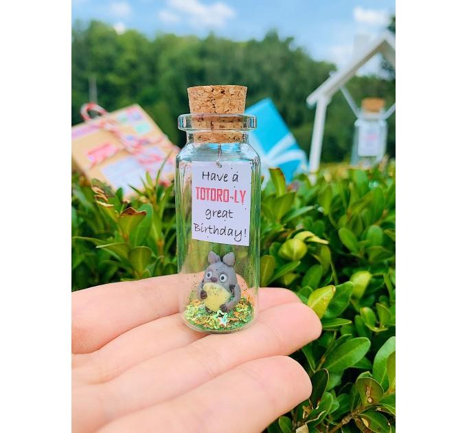Totoro Birthday Gift, Best Friend Gifts, Miyazaki, Gift for Her Anime Gift for Him Boyfriend Gift Personalized Girlfriend Gift