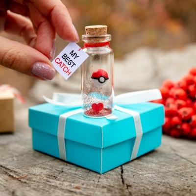 I Choose You Girlfriend gift Anniversary gift for boyfriend My best catch Boyfriend Gift Funny Pokemon Go Pokeball