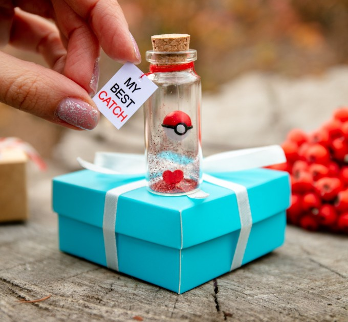I Choose You Girlfriend gift Anniversary gift for boyfriend My best catch Boyfriend Gift Funny Pokemon Go Pokeball