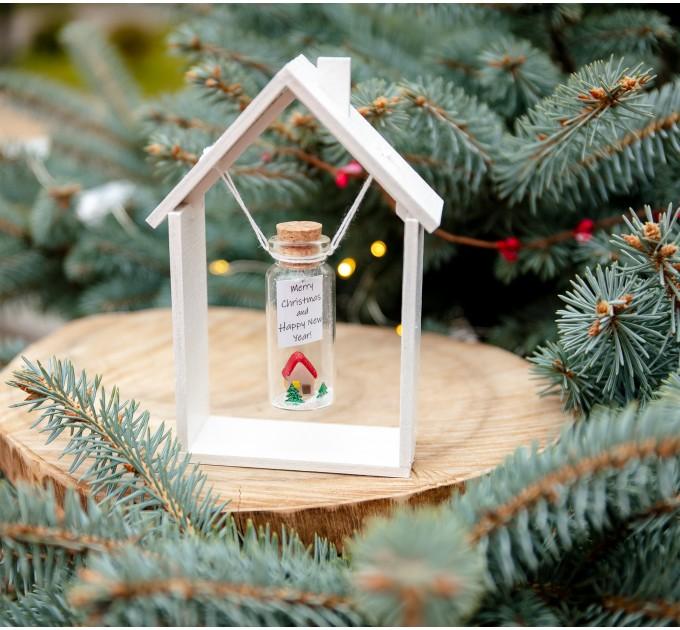 New Home Christmas Gift First Home Christmas Present Cute Housewarming Gift New Homeowner Keepsake Wish Jar Forever Figurines