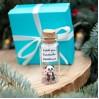 Panda Bear Christmas Miniature Holiday Gift Idea for girlfriend Cute boyfriend gift Funny best friend gift Panda lovers Christmas gift