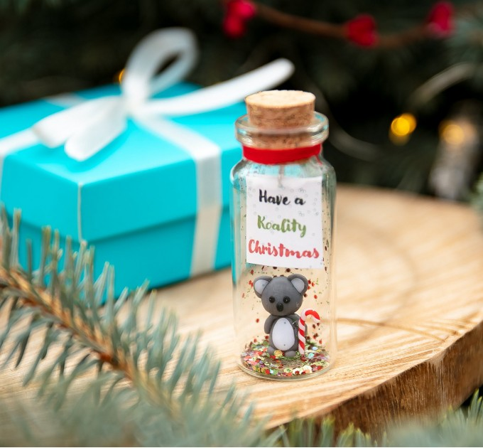 Funny koala gift Cute Christmas gift for friend Small boyfriend gift Holiday gift idea Animal gift Sweet gift for him Fun present