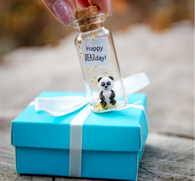 Happy Bearday Birthday Gift for friend Veterinarian Animal lovers Panda Bear Wild animal gift Cute panda bear gift for daughter Zoo animals