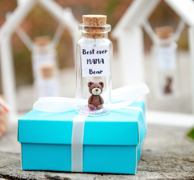Best Ever Mama Bear Mothers Day Gift Animal Gift For Mom First Mothers Day Birthday Gift for Mom from Daughter Funny Brown Bear Gift