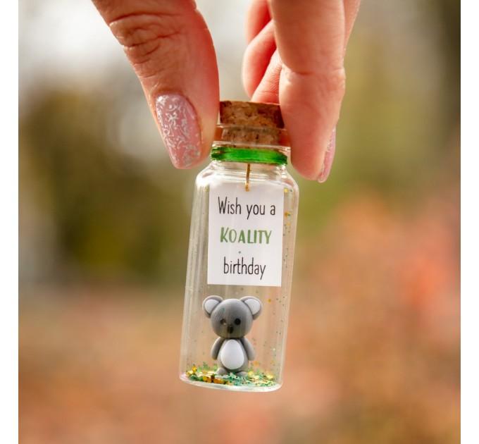 Koala gift Small birthday gift Novelty Gift For Animal Lover Cute Birthday Gift for Her Funny Gift Niece birthday gift Koala gift for friend
